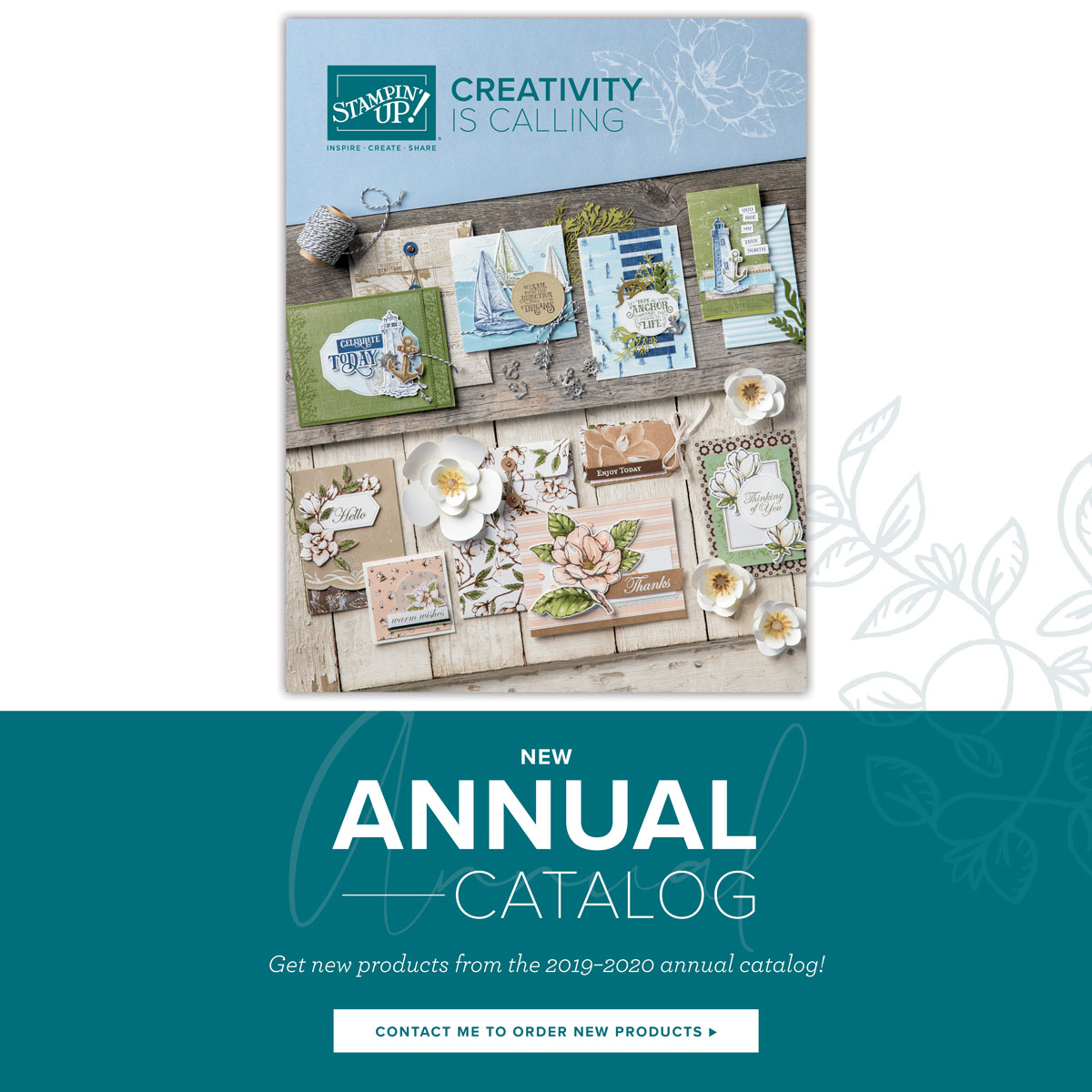 New annual Catalog Launches TODAY